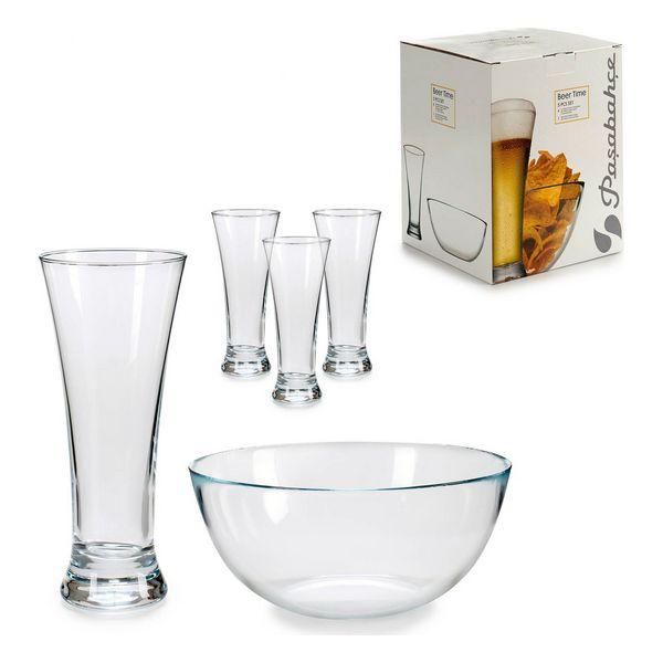 Appetizer Set Transparent Glass 5 (5 Pieces) (22 x 28 x 22 cm) 60 ml