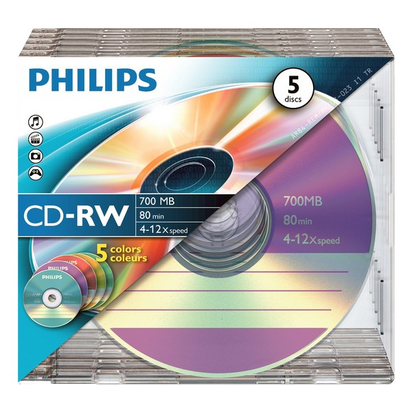 CD-R Philips CW7D2CC05/00 700 MB 80 min (Refurbished A+)