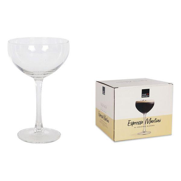 Set de Copas Royal Leerdam Expresso Martini Cocktails Cristal (24 cl) (1)