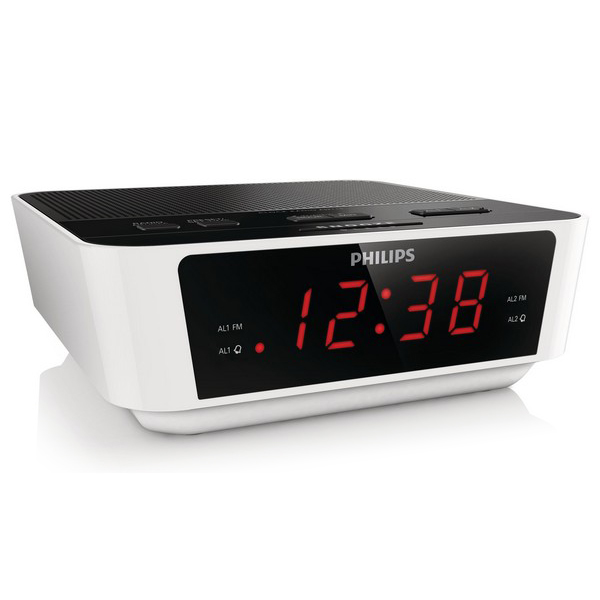 Clock-Radio Philips AJ3115/12 LED FM 1W White