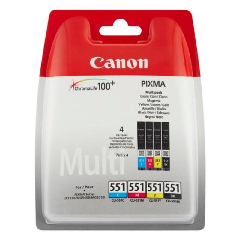 Cartucho de Tinta Original Canon ChromaLife100+ (4 pcs)