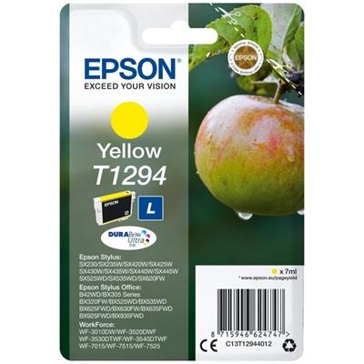 Cartucho de Tinta Original Epson T1294 7 ml Amarillo