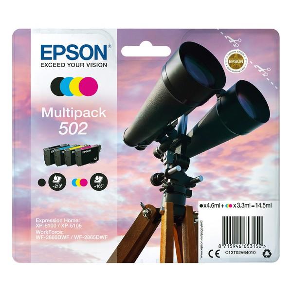 Original Ink Cartridge (pack of 4) Epson 502 Multipack 14,5 ml