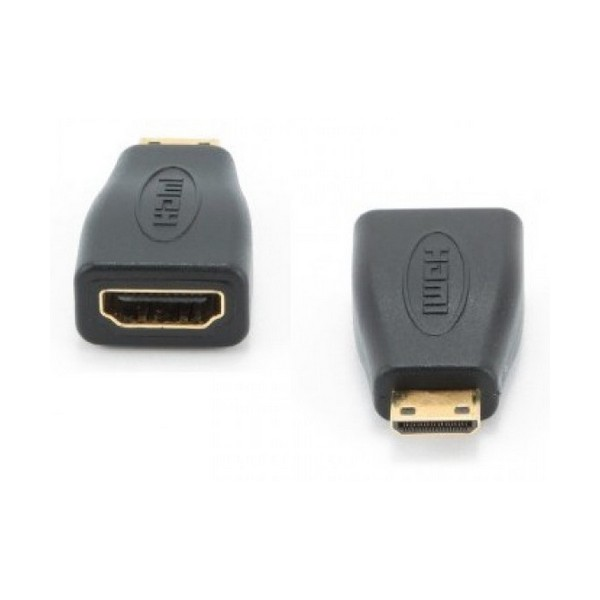 Adaptador Mini HDMI a HDMI GEMBIRD A-HDMI-FC Negro