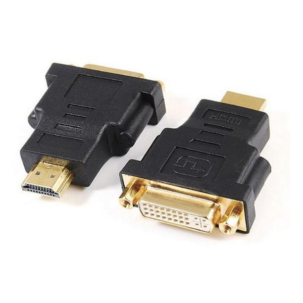 Adaptador HDMI a DVI GEMBIRD A-HDMI-DVI-3 Negro