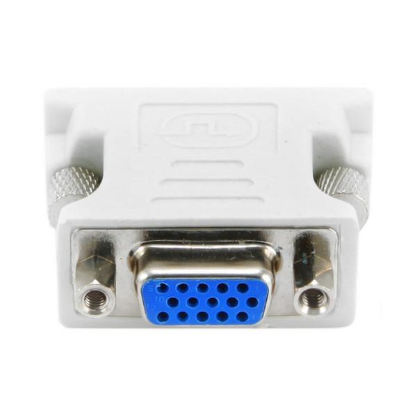 Adaptador DVI a VGA GEMBIRD A-DVI-VGA Blanco