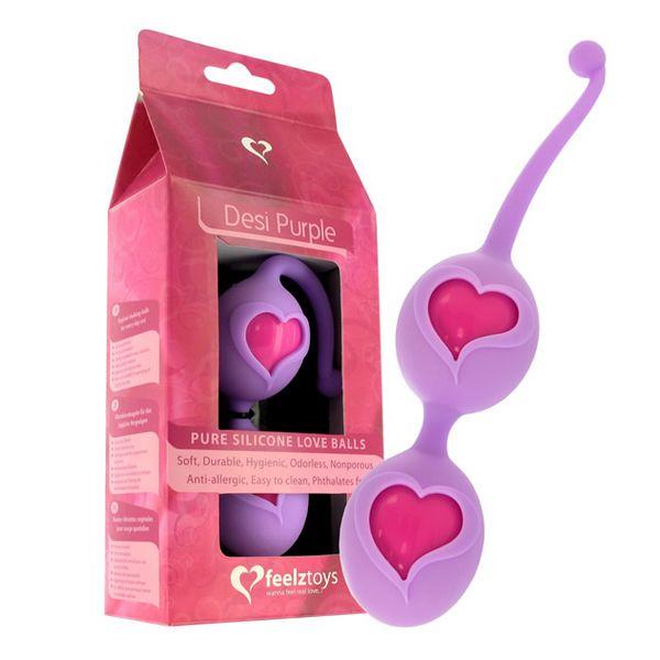 Bolas Vaginales Púrpuras FeelzToys E21149