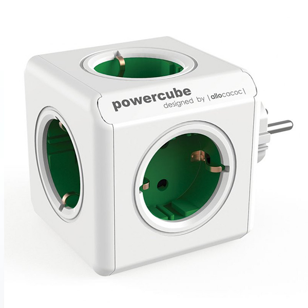 Cube multiplugs Allocacoc 100-250 V 13-16A White