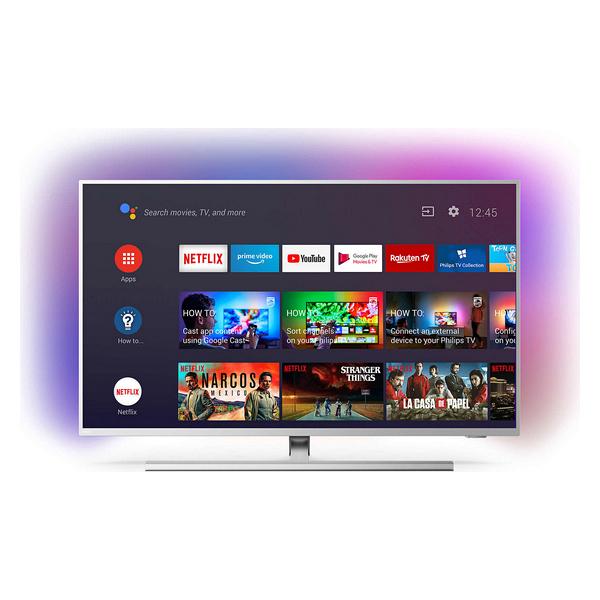 "Smart TV Philips 58PUS8535 58"" 4K Ultra HD LED WiFi Plateado (2)"