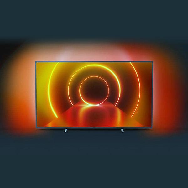 "Smart TV Philips 70PUS7805/12 70"" 4K Ultra HD LED WIFI Negro (4)"