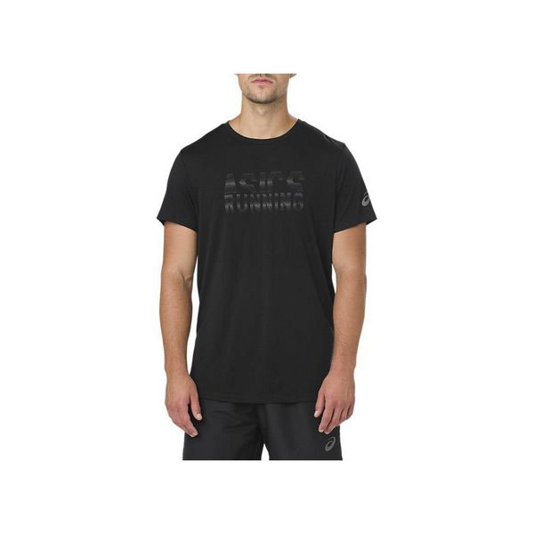 Men's Short Sleeve T-Shirt Asics GRAPHIC SS TOP Black