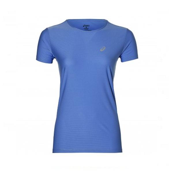 Women's Short Sleeve T-Shirt Asics SS TOP Blue