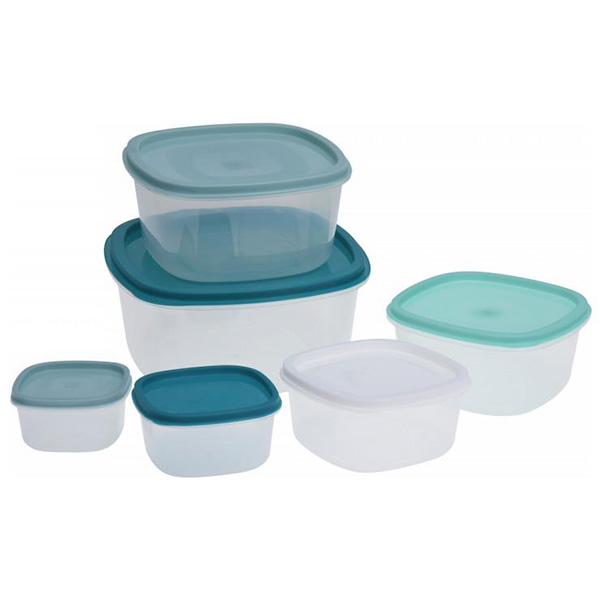 Set of 6 lunch boxes Scale Eh Kitchen Gourmet