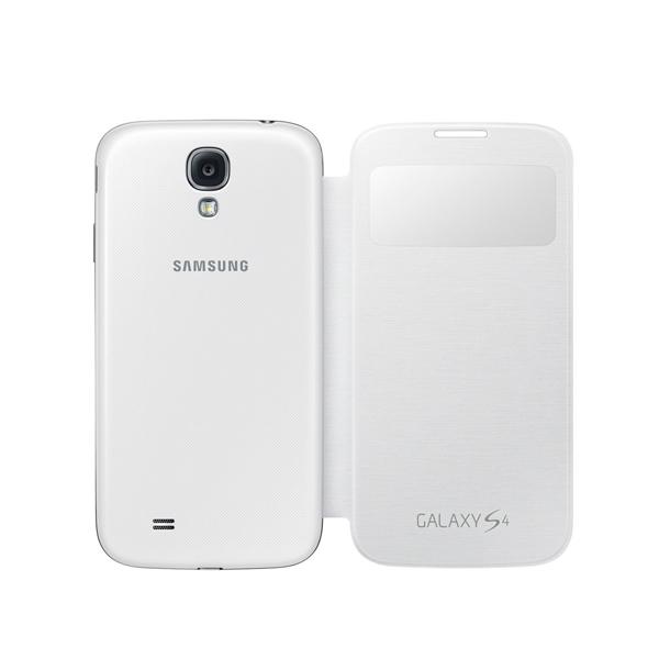Funda Folio para Móvil Samsung Galaxy S4 i9500 Blanco