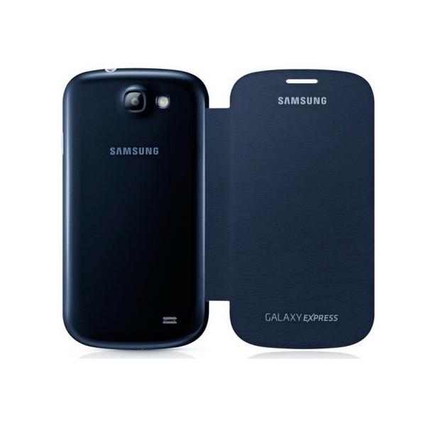 Funda Folio para Móvil Samsung Galaxy Express I8730 Azul