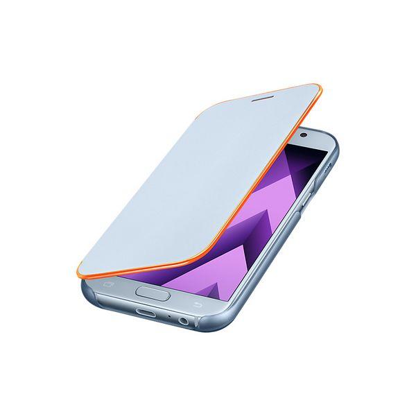 Funda para Teléfono Móvil Samsung 222147 Samsung A5 2017 Neon Flip Cover Azul