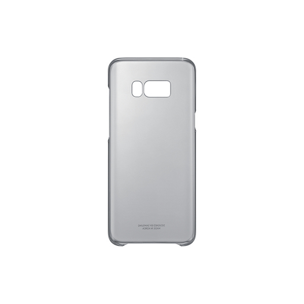 Funda Samsung 222143 Samsung S8+ Clear Cover Negro
