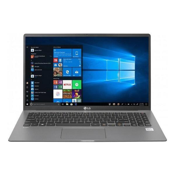 "Notebook LG 17U70N-J.AA78B 17"" i7-10510U 16 GB RAM 512 GB SSD Plateado"