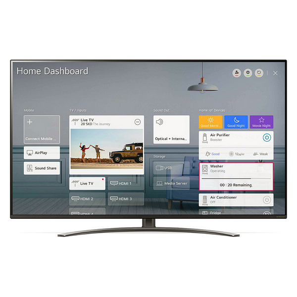 "Smart TV LG 55NANO816 55"" 4K Ultra HD NanoCell WiFi Black"