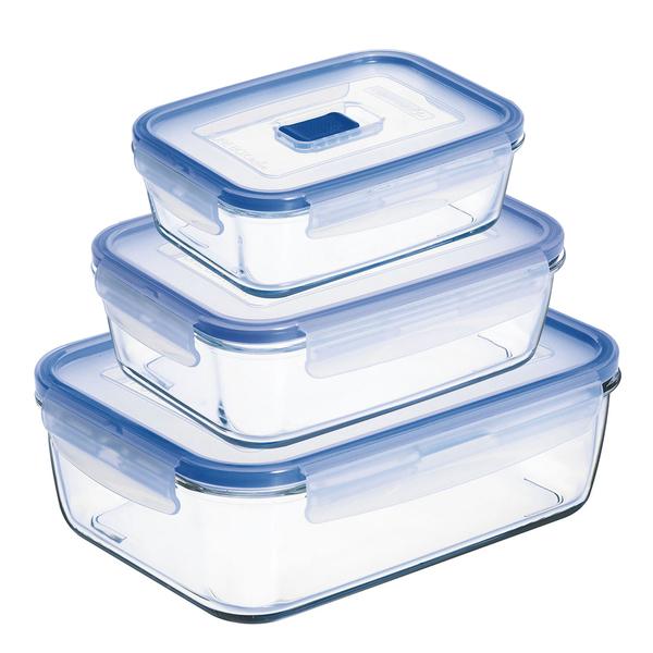 Set de Fiambreras Luminarc Pure Box Active (3 pcs)