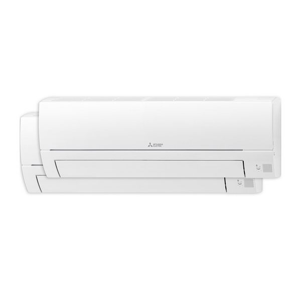 Klimatizácia Mitsubishi Electric Split Inverter 2x1 A++/A+ 1720 fg/h Biela
