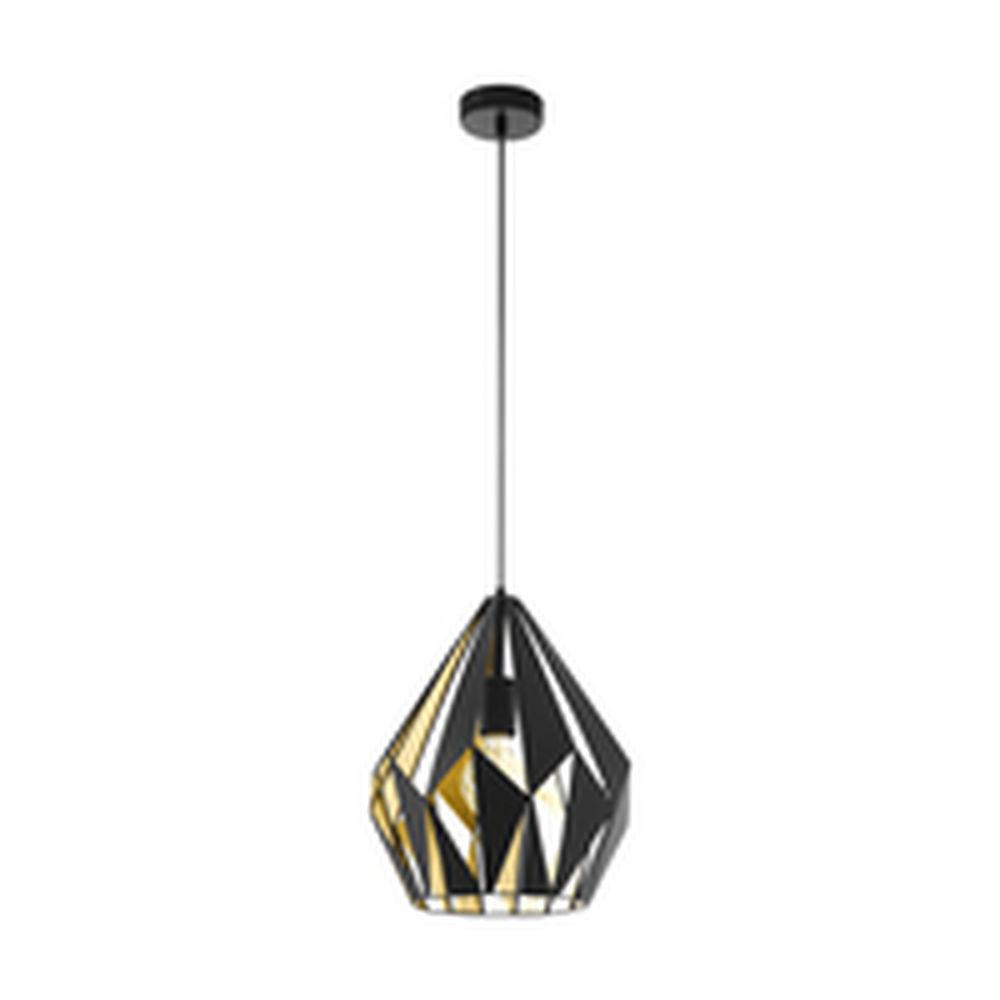 Ceiling Light Carlton 1 Black Golden (Ø31 cm) (Refurbished B)