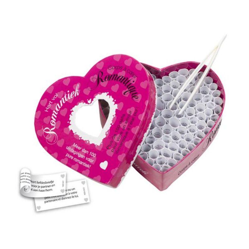 100 Romantic Dares Erotic Game (nl-fr) Tease & Please MZ1023
