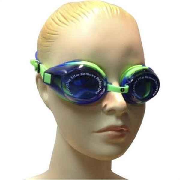 Adult Swimming Goggles Liquid Sport HOT 21501 Blue Multicolour