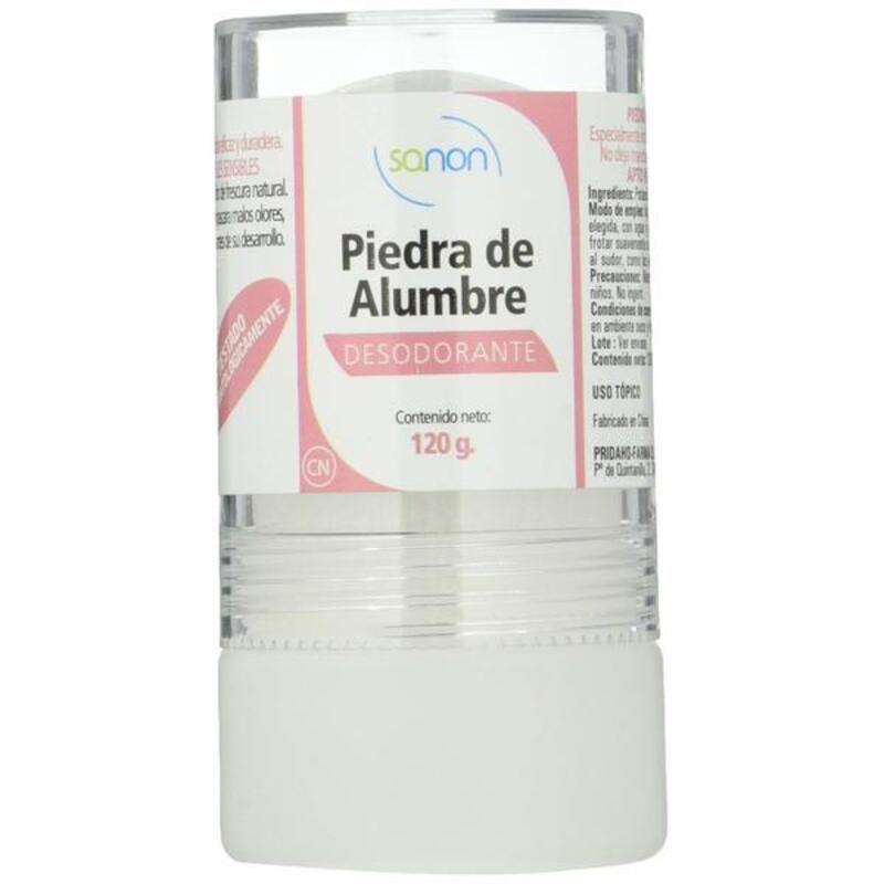 Deodorant Piedra de Alumbre Sanon 120 g (Refurbished A+)