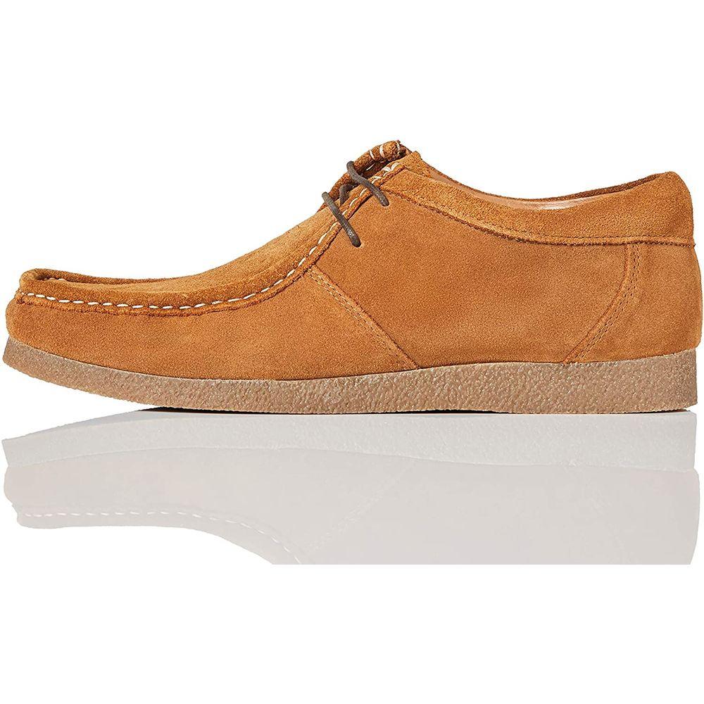 Men's Shoes Suede Beige (42) (Refurbished B)