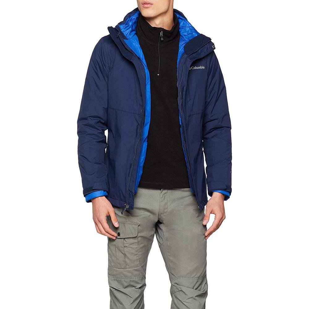 Men's Sports Jacket Columbia Element Blocker II Navy (L) (Refurbished B)