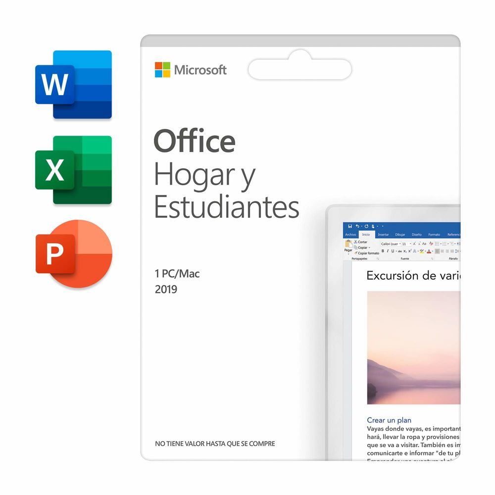 Management Software Microsoft Office Home & Student 2019 (Refurbished A+)