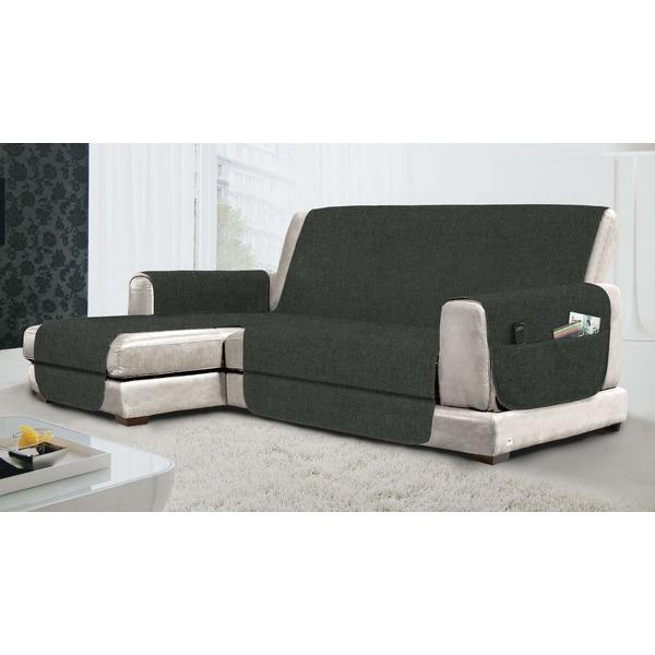 Sofa Cover SX Relax Non-slip Grey (290 cm) (Refurbished A+)