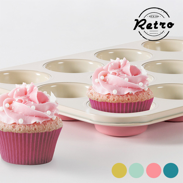 Retro Cupcake Mould