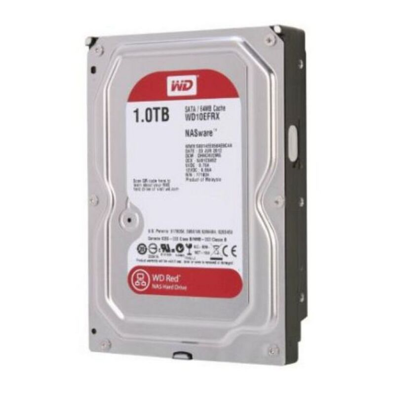 "Disco Duro Western Digital Red WD10EFRX 3.5"" 1 TB Sata III 7200 rpm Buffer 64 MB"