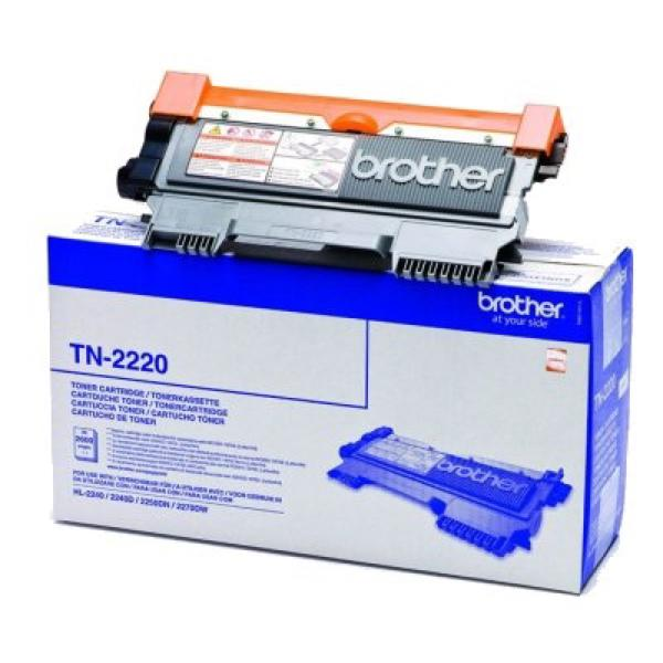 Original Toner Brother TN-2220 Black