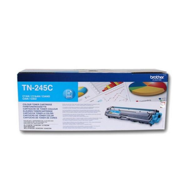 Original Toner Brother TN245C Cyan