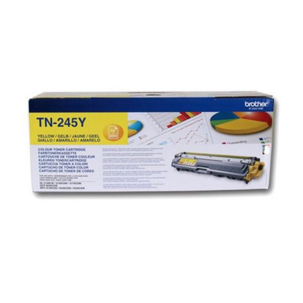 Original Toner Brother TN245Y Yellow