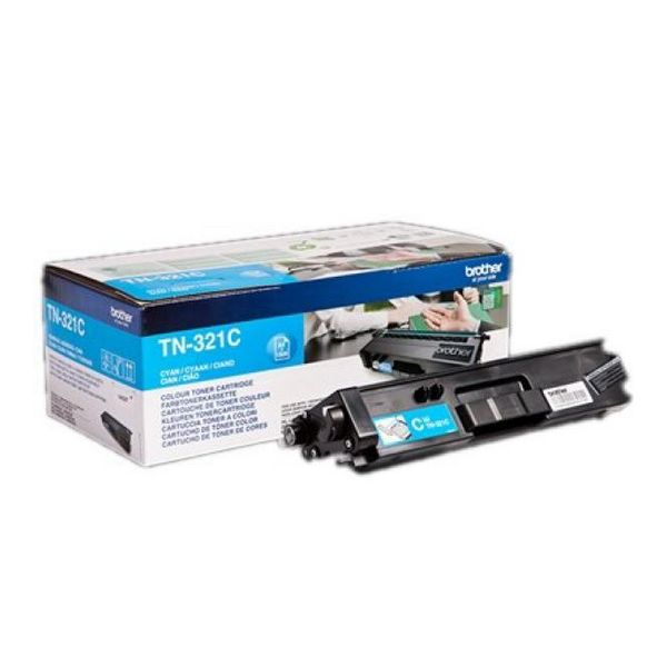 Original Toner Brother TN321C Cyan