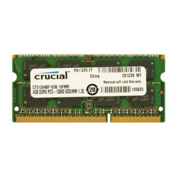 RAM Memory Crucial CT51264BF160B DDR3L 4 GB