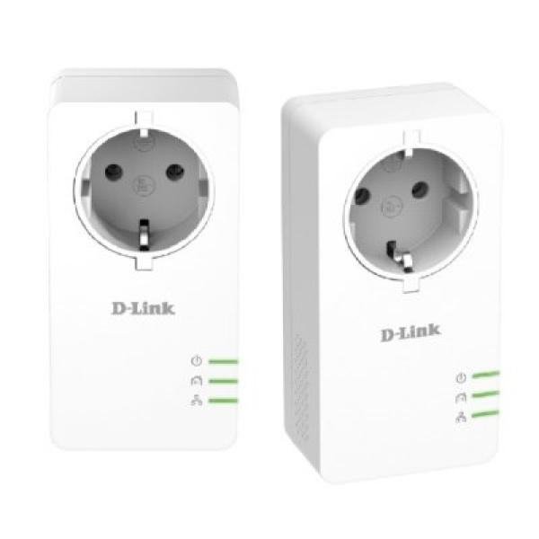 Adapter PLC Wifi D-Link PowerLine DHP-P601AV 1000 Mbps
