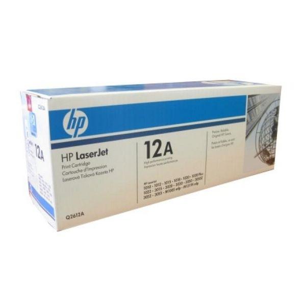 Tóner Original Hewlett Packard Q2612A Negro