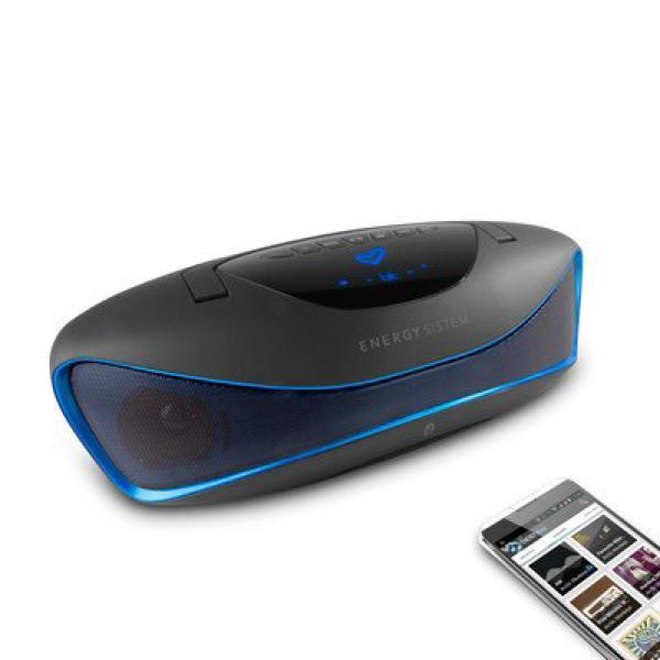 Bluetooth Music Box Energy Sistem 396948 BZ6 MP3+FM+USB Black Blue