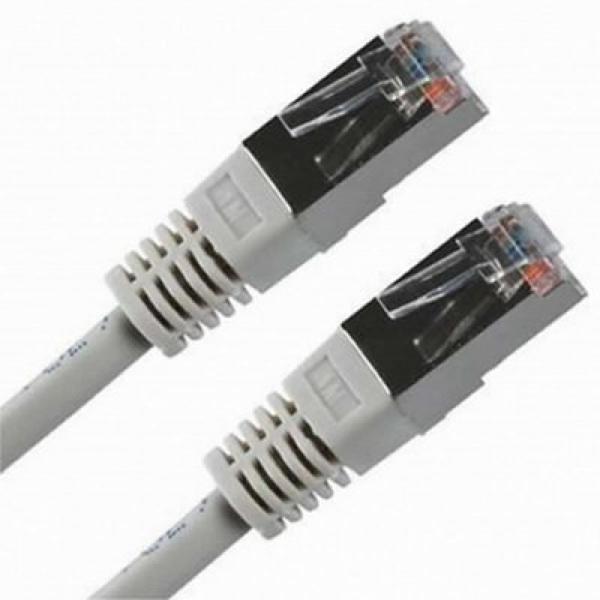 CAT 6 FTP Cable NANOCABLE 10.20.0810 Grey (10 m)
