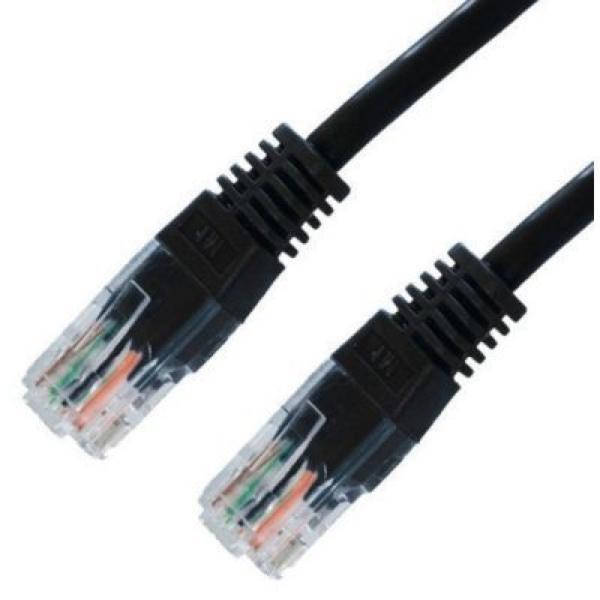 CAT 6 UTP Cable NANOCABLE 10.20.0401-BK (1 m)