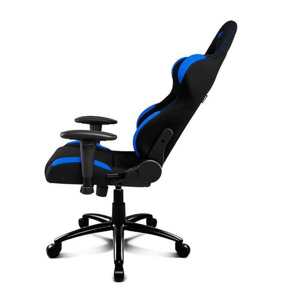 Silla Gaming DRIFT DR100BL 90-160º Tela Espuma Negro Azul (2)