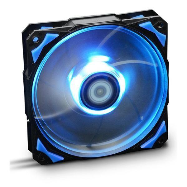Ventilador de Caja NOX NXHUMMERF120LB HFAN 12 cm LED Azul