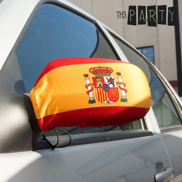 Fundas para Espejos Retrovisores Bandera de España Th3 Party (pack de 2)