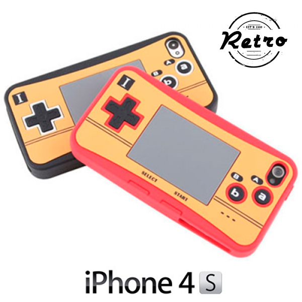 Retro Videogame Silicone Case voor iPhone