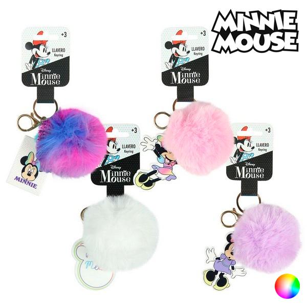 3D Keychain Minnie Mouse 70870 Pompom